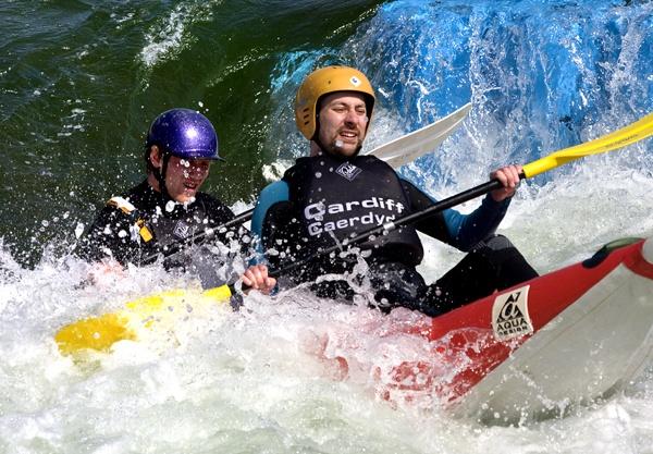 White Water Rafting by Phillbri