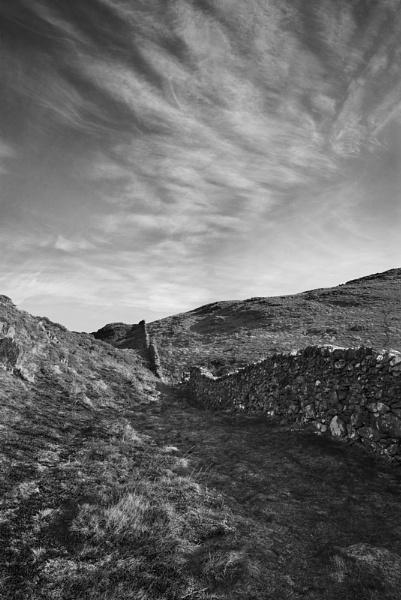 Precipice walk and sky by Steve_i2007