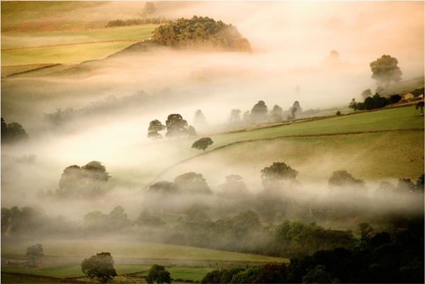 curbar mists by NEWMANP