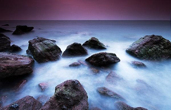 Morning Swell in Shaldon by JackAllTog