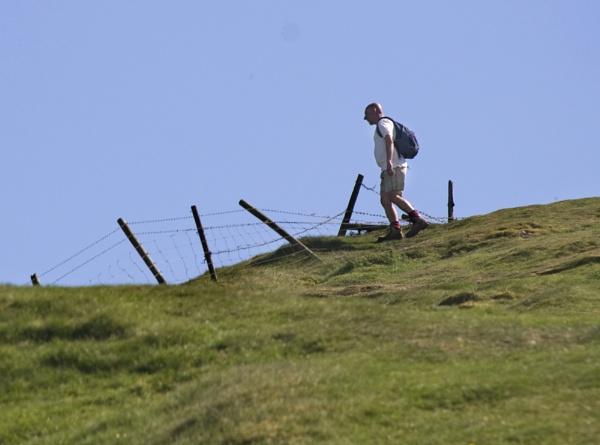 The Hiker by jasonrwl