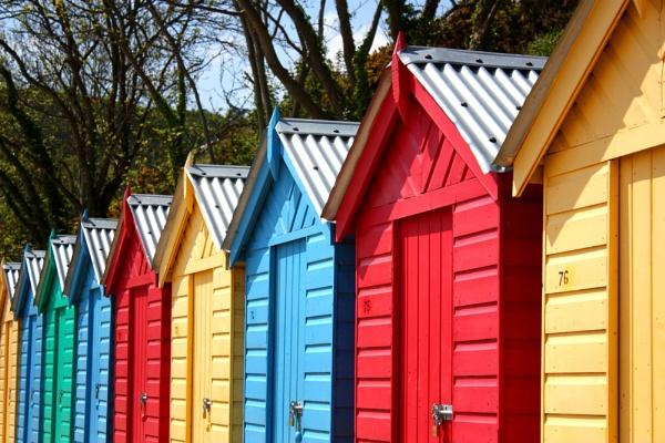 Llanbedrog Beach Huts by SteveBaz