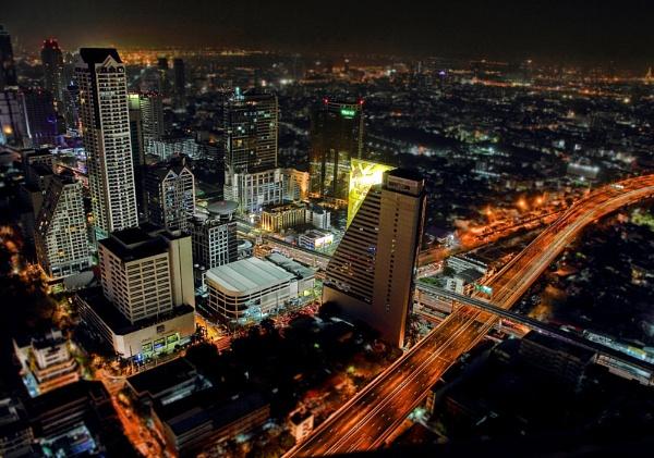 Bangkok from 54th floor by dentex