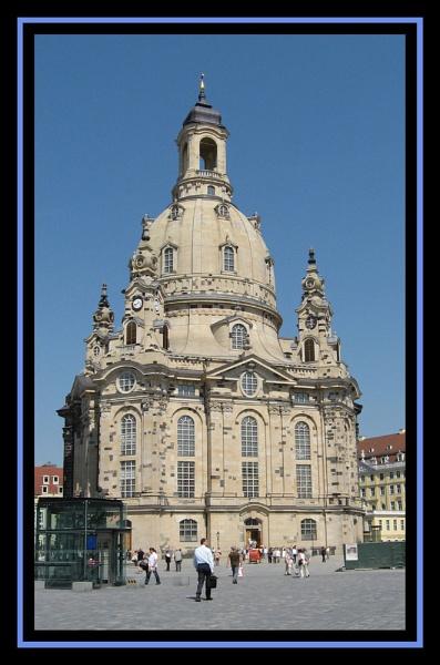 The Frauenkirche, Dresden, Germany by Elizabethh