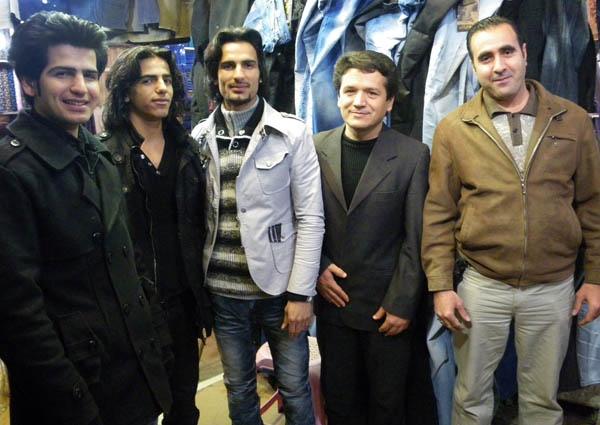 Iranian Michael Jackson among his friends by kombizz