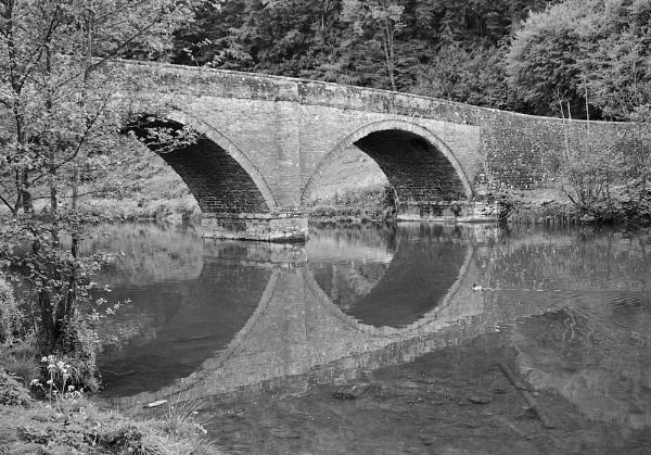 Ludlow Bridge by Willmer