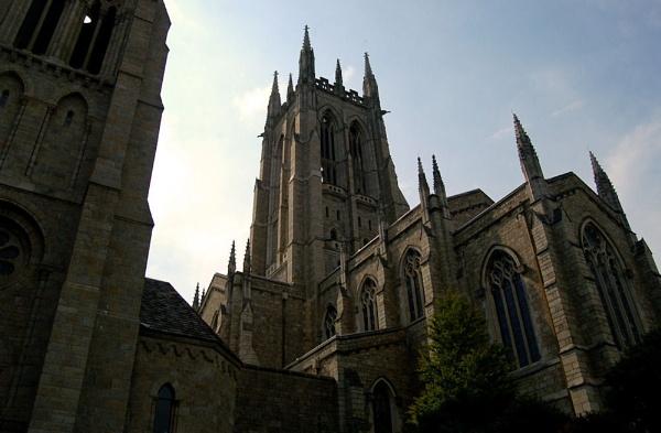 Bryn Athyn Cathedral. by SJAlfano