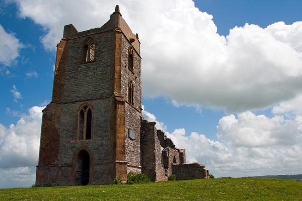Church on Burrow mump. by thebigimp