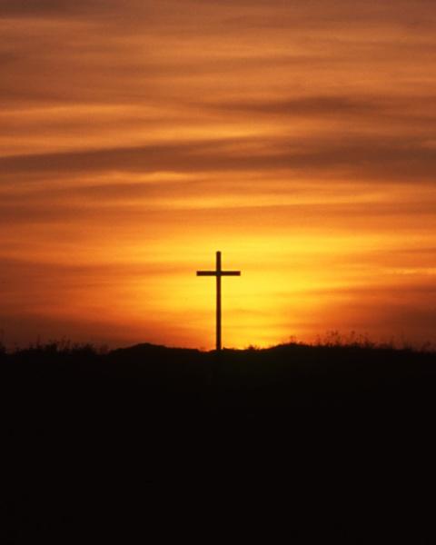 St Cuthbert Island Cross by kgb