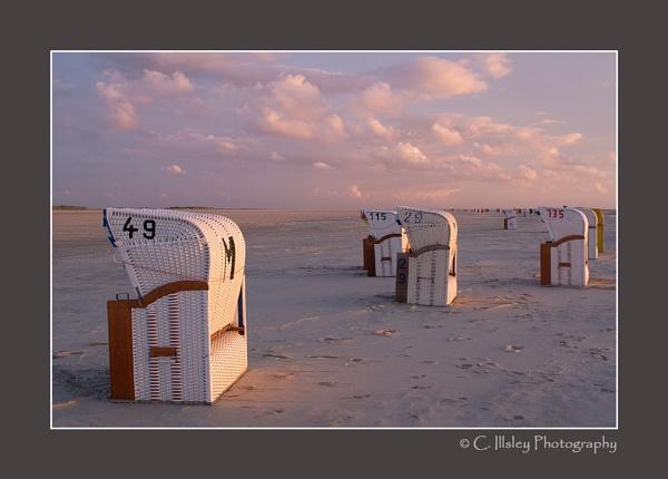 Beach Loungers by CathyI