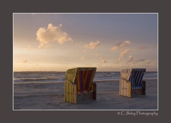 Beach Loungers 2 by CathyI