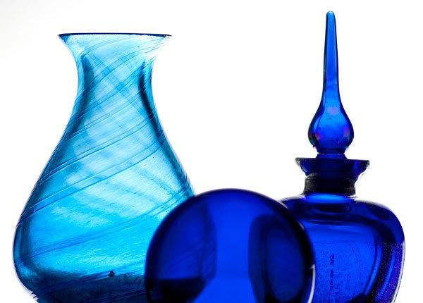 Blue Glass by StephenDM