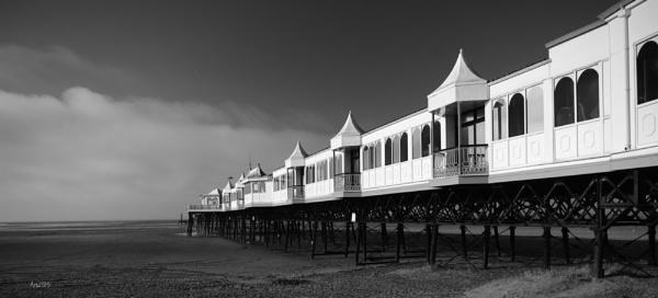 The Pier at St Annes, Fylde Coast. Lancashire by Art2105