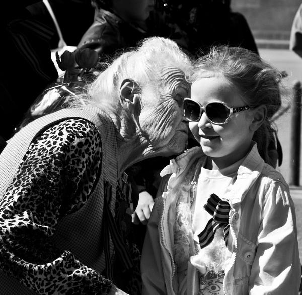 A kiss from a veteran by watsonle