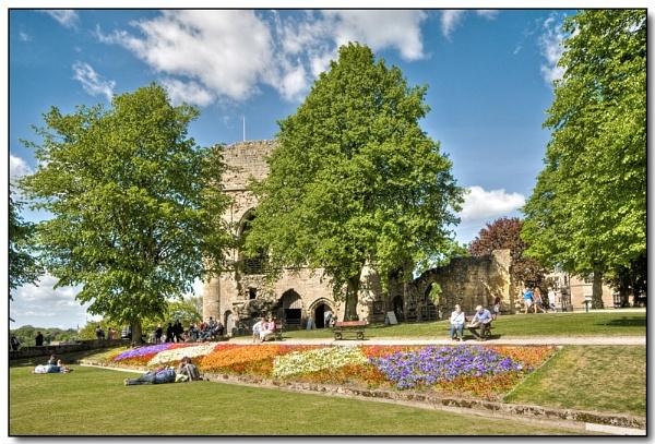 Knaresborough Castle by TrevBatWCC