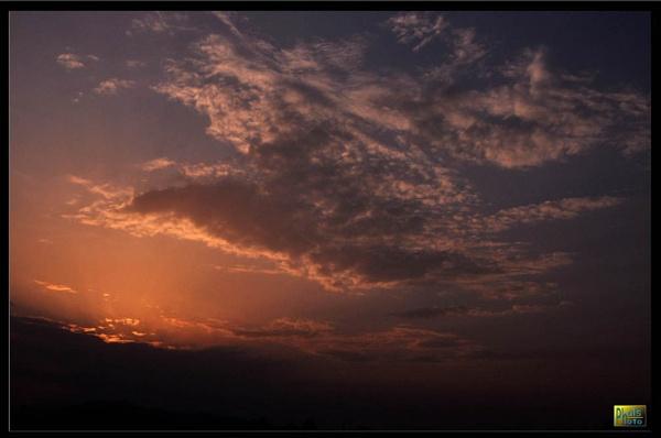 pokhara sunrise by phal
