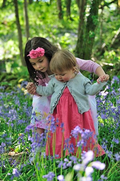 Carley & Millie in Bluebell land by Martyn_U