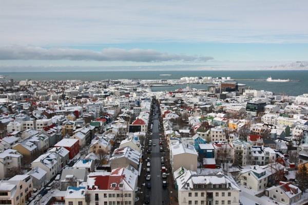 Reykjavik by Kdoone