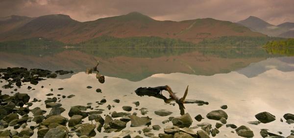 Dawn at derwent Water by Bulldog1147