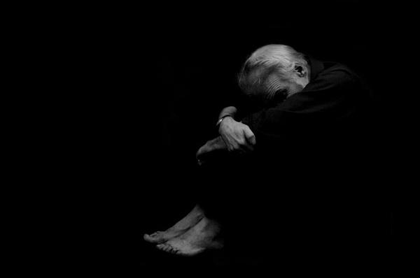 Depression (Negative Space) by Nathan_deGargoyle2