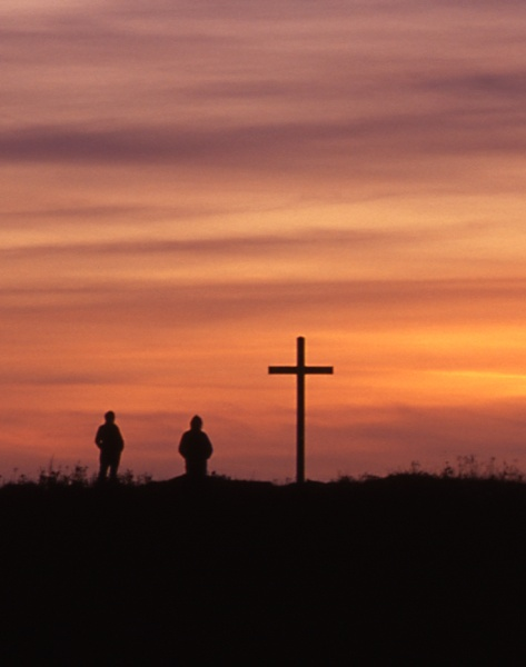 At the cross by kgb