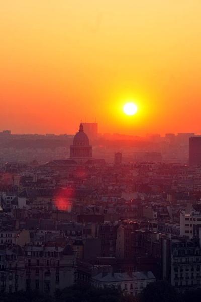 Bonjour Paris - taken from Montparnasse by GregnTreesPhotography