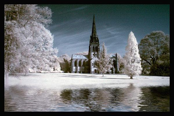 Clumber Church by ATHERTON