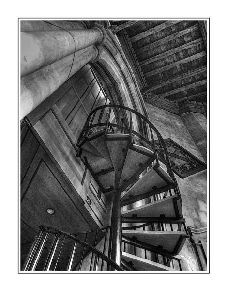Spiral stairway by malleader