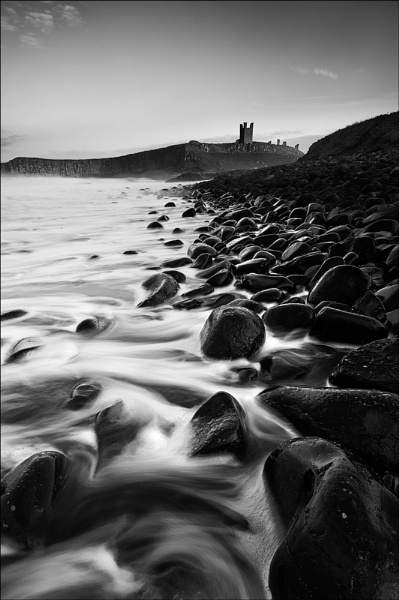 Dunstanburgh Mono by colin63