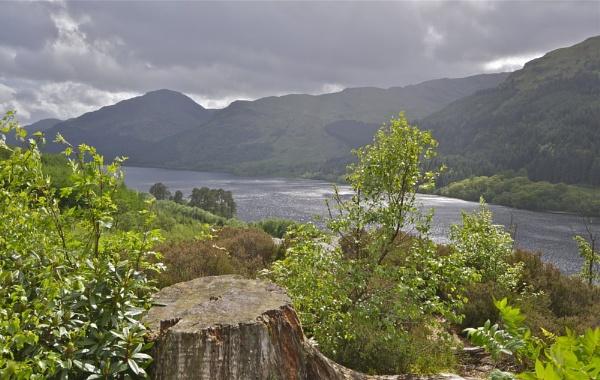 Sunlight over Loch Eck by PaulLiley