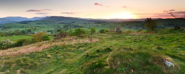 Hillside Sunrise by gvet
