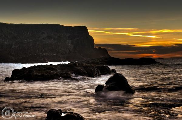 Sunset in Ireland by SpiroSpiteri