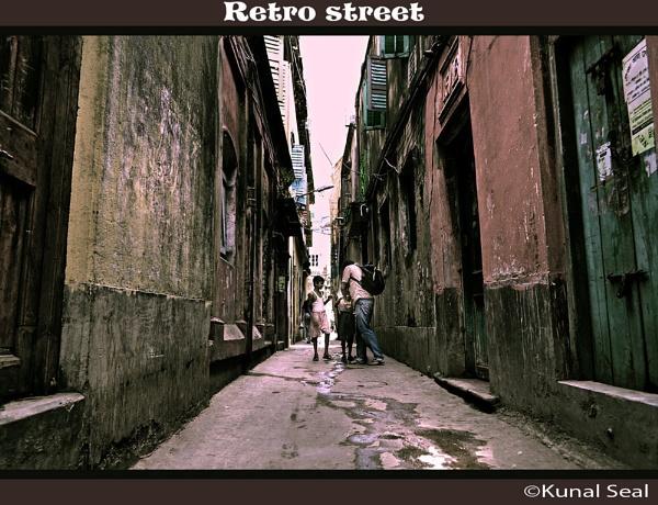 Retro Street by kunal_seal