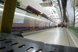 Tube Train Arrival