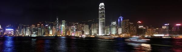 Hong Kong Panorama by digitalphil