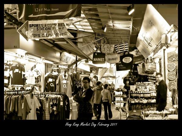 Hong Kong Market by redpuma