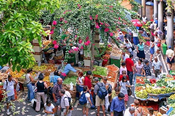 Funchal Market by Phil_Bird