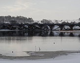 viaduct  balgray resevoir by rhonahelen