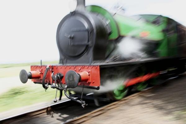 Ring Haw loco, North Norfolk Railway. by sosunny