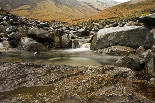 Running water by Henshall
