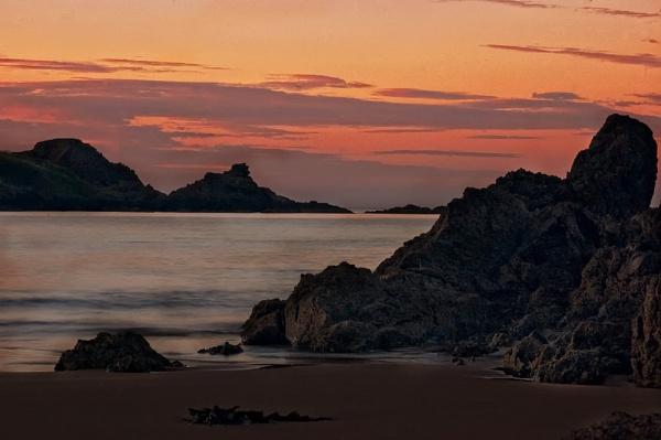 Coldingham Rocks by MelanieB