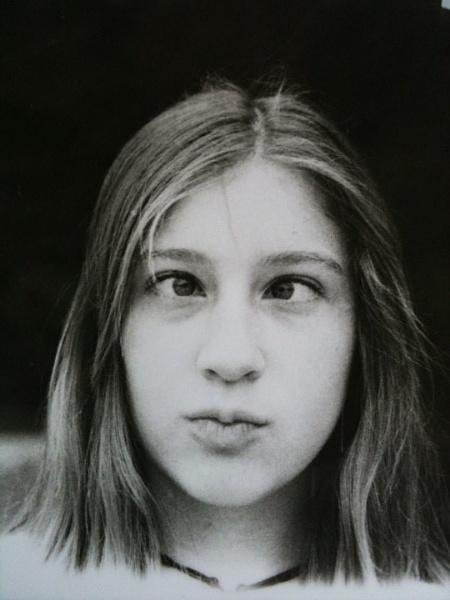 Cross-Eyed girl by sunsetgirl