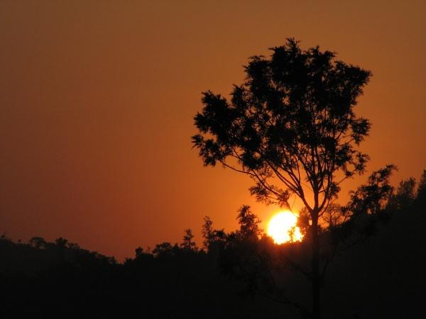 Sunset by prasenjitmaitra