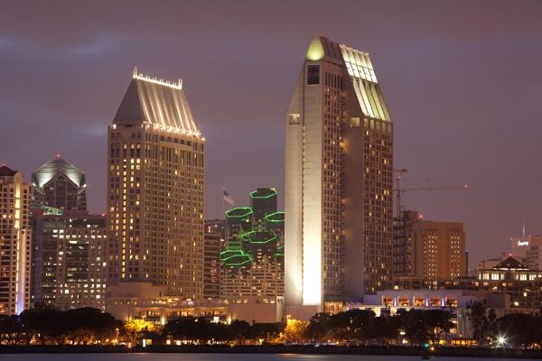 San Diego Skyline by nobby1