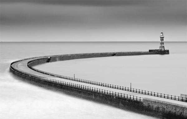 Roker Pier by Sainty