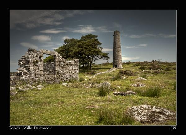 Powder Mills , Dartmoor by jer