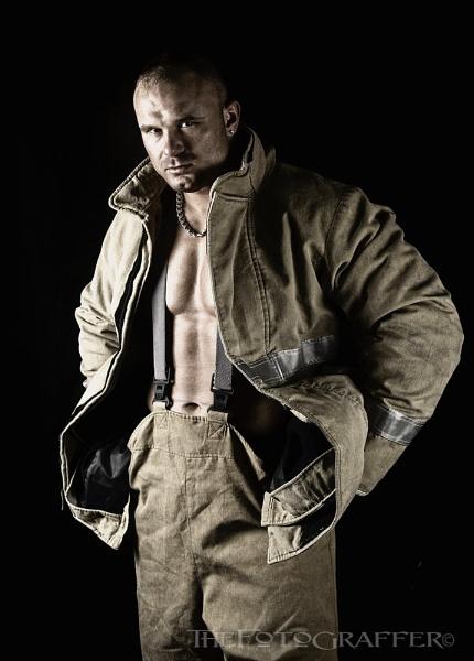 The fireman by TheFotoGraffer