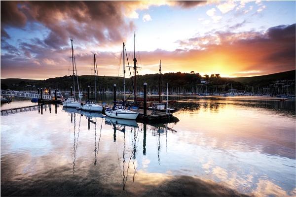 Dartmouth Estuary by cassiecat