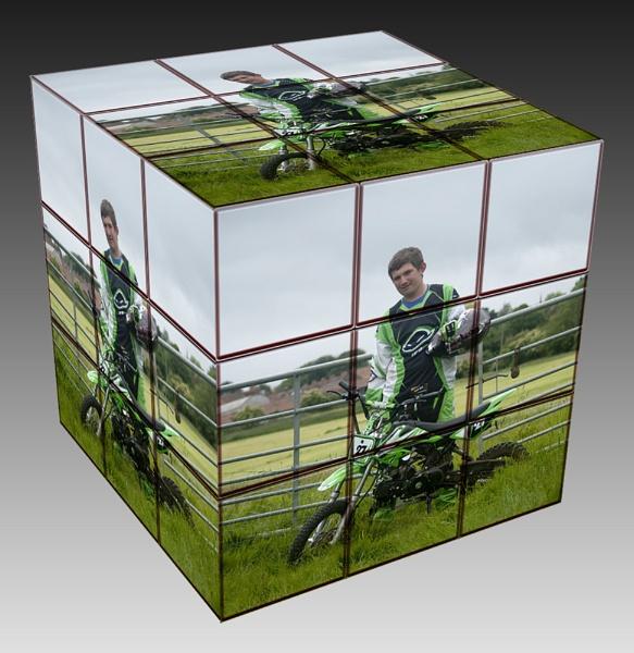 Rubik\'s cube by jamestheboy