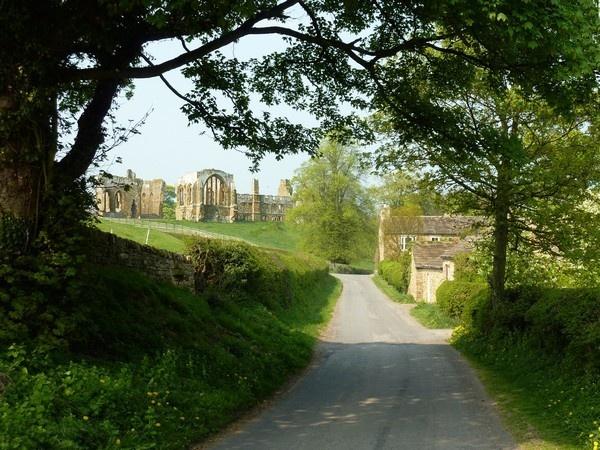 Egglestone Abbey by Radnox